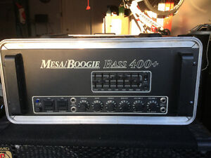 Mesa Bass Tube 400+ Amplifier and EDEN Cabinets or trade