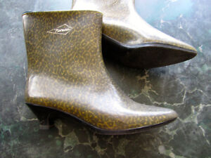 Fiorucchi Rubber Boots from Italy, size 39