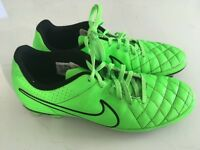 Nike tiempo football boots. Size 8.5