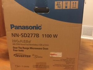 Panasonic Full Size 2.2 Cu. Ft. Over-the-Range Microwave (in box West Island Greater Montréal image 5