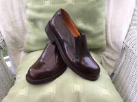 MENS TOP QUALITY ALL LEATHER SHOES. SOLES. LINING. UPPERS. STITCHED SOLES. BRAND NEW. NEVER WORN