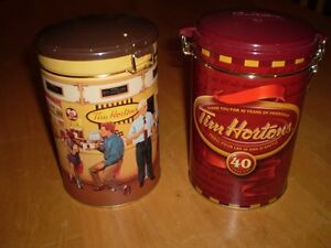 TIM HORTONS COFFEE CANISTERS Windsor Region Ontario image 4