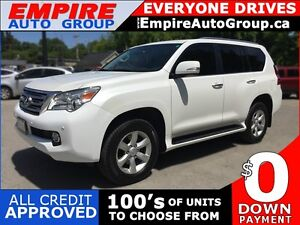 2011 LEXUS GX 460 4WD * 1 OWNER * LEATHER * SUNROOF * REAR CAM *