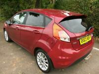 2013 Ford Fiesta 1.0 EcoBoost 125 Titanium X 5dr HATCHBACK Petrol Manual