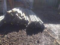 Used Scaffold poles