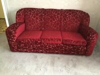 Sofa and 2 Armchairs - all offers considered