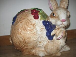 Porcelain Bunny and baby bunny  for sale