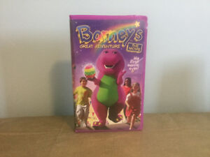 Barney's Great Adventure -The Movie (his first movie ever) VHS