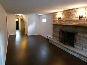 Mississauga, 2BR Spacious, Well-Lit Basement Apartment for Rent