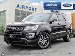 Ford Explorer Sport 4WD with only 28,011 kms 2017