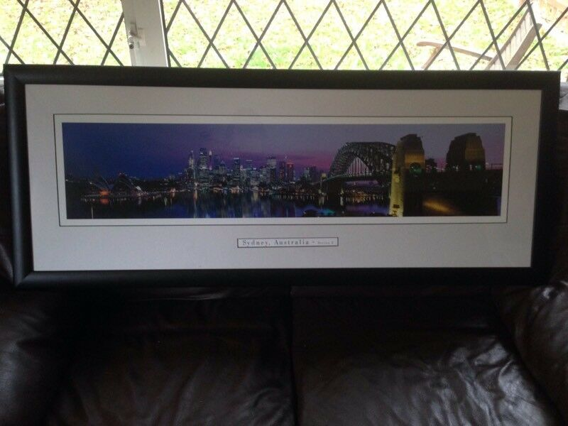 Sydney framed picture