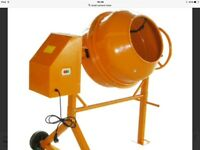 Wanted Small Cement Mixer