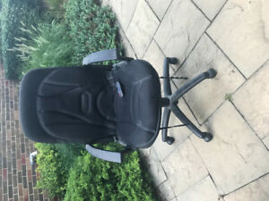 Office chair with massage cushion-reduced