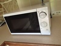 White microwave - excellent condition