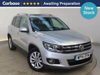 2014 VOLKSWAGEN TIGUAN 2.0 TDi BlueMotion Tech Match 5dr [2WD] SUV 5 Seats