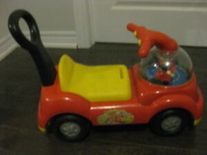 Little People Fire truck ride-on with sounds $40, Good Condition