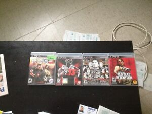 Assorted video games ps3