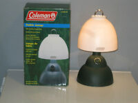 COLEMAN BATTERY OPERATED TABLE LAMP - NEW IN BOX