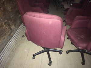 Chairs as NEW Board room 24 matching London Ontario image 2