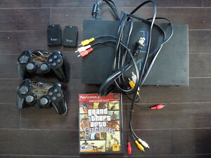 Playstation 2, wireless controllers, GTA San Andreas