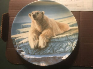The Polar Bear - Bradford Exchange Collector Plate