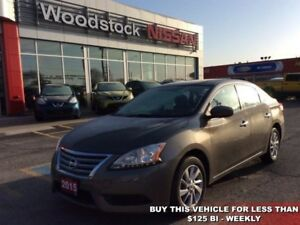 2015 Nissan Sentra SV  - Bluetooth -  Heated Seats - $104.21 B/W