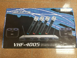 VocoPro Professional Vocal Systems - Wireless Microphone System