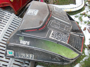 1973 Arctic Cat Eltigre Snowmobile 340 Hood Peterborough Peterborough Area image 1