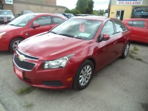 2011 CHEVROLET CRUZE LOW KM