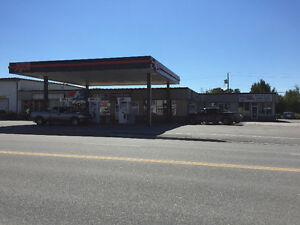 PLAZA WITH GAS STATION FOR SALE