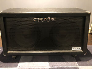 Crate GT212S 160W 2x12 Slant Cabinet with removable wheels
