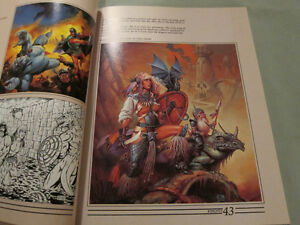 The Art of the Dungeons and Dragons Fantasy Game Paperback 1986 Kingston Kingston Area image 4