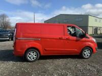 RED FORD TRANSIT CUSTOM 2.2 290 LIMITED LR P/V *BUY FROM £239 PER MONTH*