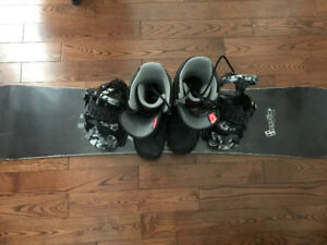 Forum snowboard , bindings and boots