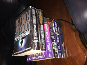 James Patterson books 6 pack bundle