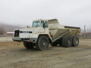TEREX 4066C 4x4 ARTICULATING ROCK TRUCK FOR SALE.