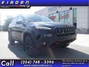 2018 Jeep Cherokee Trailhawk 4x4 - Leather Seats - $249.72 B/W