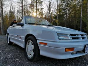 1991 dodge shadow es turbo convertible