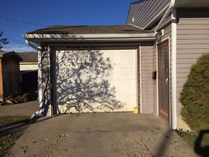 OVERSIZED Single Car Garage -Available Now -CLICK HERE