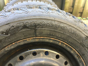 Like new Winter  tires 215/60R15