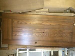 Solid hard wood door