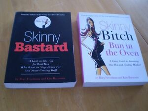 SKINNY BASTARD AND SKINNY BITCH BUN IN THE OVEN WEIGHT LOSS BOOK
