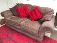 3 piece suite (2.5 and 2 seater settees plus armchair)