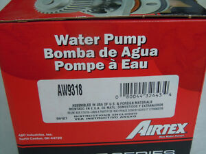 Airtex AW9318 Engine Water Pump - 1992 - 2001 Ford Mazda 626 Mil