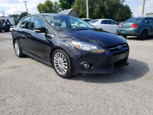 2012 FORD FOCUS TITANIUM  SAFETY AND E-TESTED