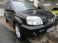 2005 05-Reg Nissan X-Trail 2.2dCi SVE,JET BLACK FULLY LOADED CAR!!!