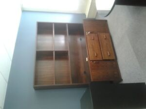 Large Wooden Bookshelf, Desks, Chairs, Cabinets- FREE THIS WEEK!
