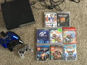PS3 - console/controllers/games