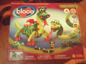 Bloco Dragons and Reptiles