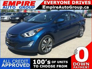 2015 HYUNDAI ELANTRA GLS * SUNROOF * REAR CAM * LOW KM * LIKE NE